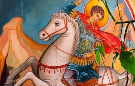 ΘΑΥΜΑ: Το άλογο του Αγίου Γεωργίου φέρεται να δάκρυσε σε μοναστήρι στην Κύπρο (PHOTO)