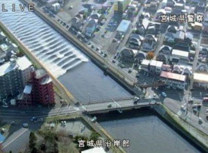 Εντυπωσιακές εικόνες από το τσουνάμι που προκάλεσε ο σεισμός στην Ιαπωνία (VIDEO)