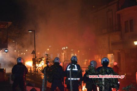 Ξάνθη: Οδομαχίες και δακρυγόνα με αφορμή το άνοιγμα νέων γραφείων της Χρυσής Αυγής στην πόλη