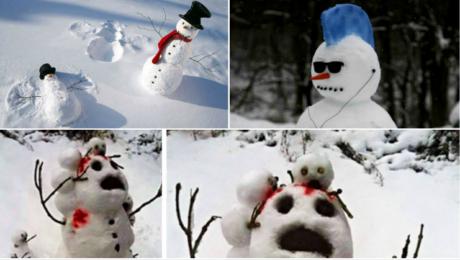 15 καινοτόμες ιδέες για να πάψουν οι χιονάνθρωποί σας να είναι κρυόκωλοι (PHOTOS)