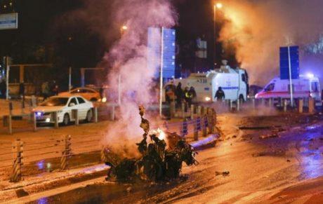 Πολύνεκρη βομβιστική επίθεση χθες την Κωνσταντινούπολη – 29 οι νεκροί και 166 οι τραυματίες ως τώρα