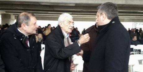 Mπουτάρης – Τζιτζικώστας παραλίγο να μαλλιοτραβηχτούν σε αγιασμό στη Θεσσαλονίκη (VIDEO)