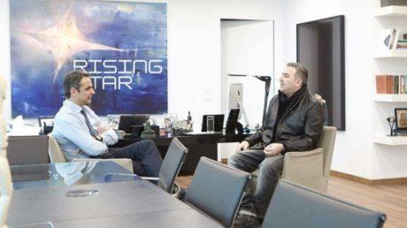 Φανατικός οπαδός του Rising Star είναι ο Κυριάκος Μητσοτάκης όπως μας αποκαλύπτει ο Αντώνης Ρέμος (VIDEO)