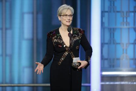 Η Μέριλ Στριπ τα 'χωσε τόσο πολύ στον Ντόναλντ Τραμπ στην ομιλία της στις Χρυσές Σφαιρες που τον ανάγκασε να απαντήσει (VIDEO)