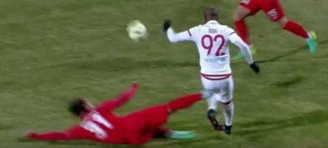 Πρωταθλητής στο ΜΜΑ αναδείχθηκε ο ποδοσφαιριστής της Ξάνθης Χρήστος Λισγάρας μετά το χθεσίνο του δολοφονικό τάκλιν (VIDEO)