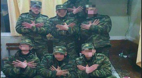 Με 60 μέρες φυλακή τιμωρήθηκαν από το ΓΕΣ οι 7 νεοσύλλεκτοι που σχημάτισαν τον αλβανικό αετό