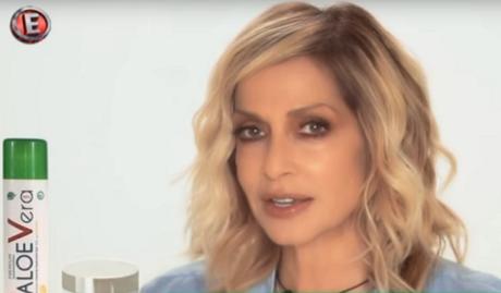 Ξέρεις ότι η κρίση έχει αγγίξει τους πάντες όταν η Άννα Βίσση διαφημίζει προϊόντα Aloe Vera στο Έψιλον (VIDEO)
