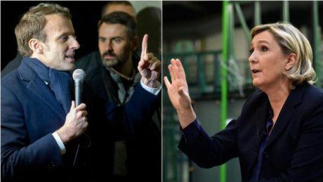 Λεπέν και Μακρόν για το 2ο γύρο: Συντριβή για τα παραδοσιακά κόμματα της Γαλλίας ο 1ος γύρος των προεδρικών εκλογών