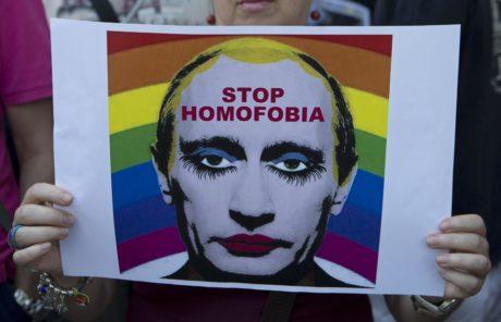 Αυτή η εικόνα που απεικονίζει το Βλάντιμιρ Πούτιν με μακιγιάζ απαγορεύτηκε από το υπ. Δικαιοσύνης της Ρωσίας (PHOTO)