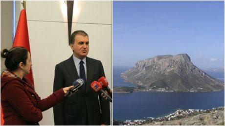 Ο Τούρκος υπουργός Ευρωπαϊκών Υποθέσεων δήλωσε πως το Αγαθονήσι ανήκει στην Τουρκία και πως ο Καμμένος είναι ασόβαρος