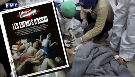 «Τα παιδιά του Άσαντ» είναι ο τίτλος του σημερινού σοκαριστικού εξώφυλλου της Liberation