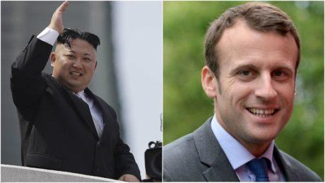 Για λόγους που κάνεις δεν γνωρίζει ο Κιμ Γιονγκ Ουν συγχαίρει τον Μακρόν για την εκλογική του νίκη