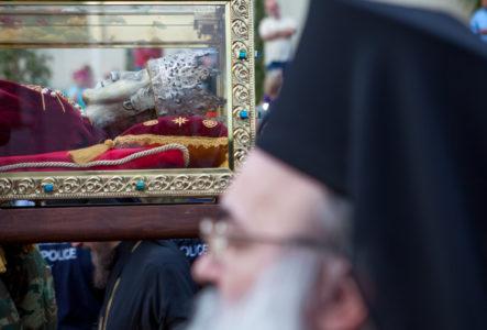 48 φωτογραφίες από τη θριαμβευτική υποδοχή της Αγίας Ελένης στο Αιγάλεω