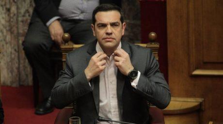 Σύμφωνα με τον Αλέξη Τσίπρα κερδάμε τόσο πολύ που σύντομα θα χρειαστεί να φορέσει γραβάτα
