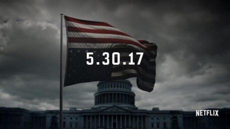 Το House of Cards επιστρέφει τον Μάιο και ο Frank Underwood δεν κρατιέται