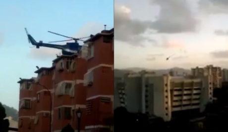 Βενεζουέλα: Ελικόπτερο της αστυνομίας επιτέθηκε με χειροβομβίδες στο Ανώτατο Δικαστήριο