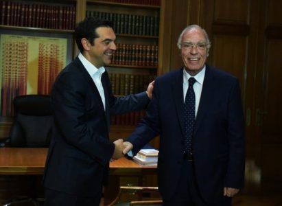 Έκτακτο: Οικουμενική κυβέρνηση πρότεινε ο Βασίλης Λεβέντης στον Αλέξη Τσίπρα στην πρόσφατη συνάντησή τους