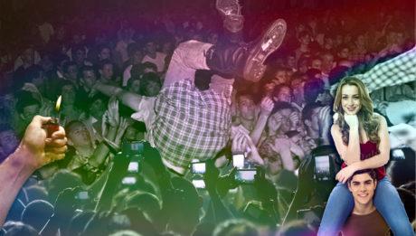 10 εξωφρενικά πράγματα που συμβαίνουν σε κάθε συναυλία