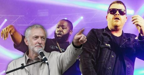 Ο βρετανός πολιτικός Τζέρεμι Κόρμπιν θα προλογίσει το χιπ χοπ ντουέτο των Run The Jewels στο Glastonbury Festival