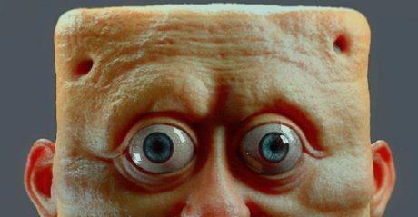 Ένας καλλιτέχνης σχεδίασε το Μπομπ Σφουγγαράκη στην πραγματική ζωή και τρόμαξε όλο το ίντερνετ