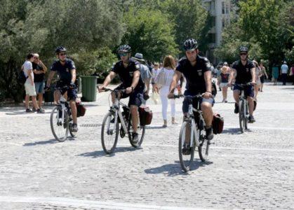 Χιπστερόμπατσοι με ποδηλατάκι ελέγχουν πλέον τη φάση στην Αθήνα