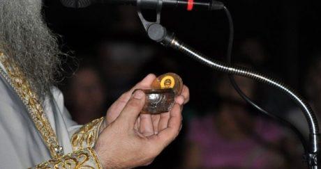 Στο Αγρίνιο πιστοί προσκύνησαν ένα κάστανο που είχε βράσει ο Άγιος Παΐσιος