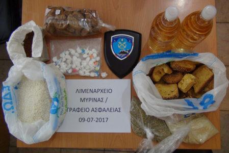 Συνέλαβαν ποδοσφαιριστή στη Λήμνο με 52 γραμμάρια κοκαΐνης κρυμμένα σε ρύζι