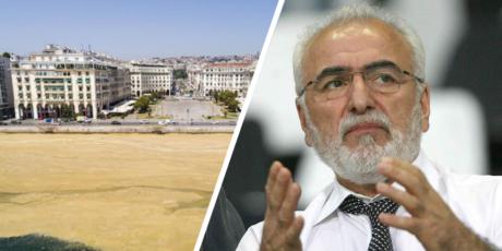 Το κόστος για τον καθαρισμό του Θερμαϊκού από την καφέ χλαπάτσα θέλει να αναλάβει ο Ιβάν Σαββίδης
