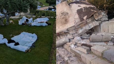 Κως: Δύο νεκροί, δεκάδες τραυματίες και σοβαρές ζημιές από τον χτεσινό σεισμό