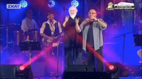 Ο Διονύσης Σαββόπουλος «έκοψε» τον Γιάννη Ζουγανέλη στη χθεσινή συναυλία