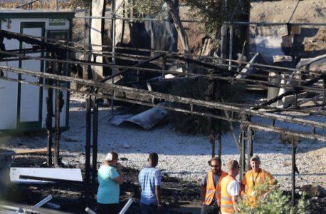 Εκτονώθηκε η κατάσταση στο κέντρο κράτησης της Μόριας στη Λέσβο