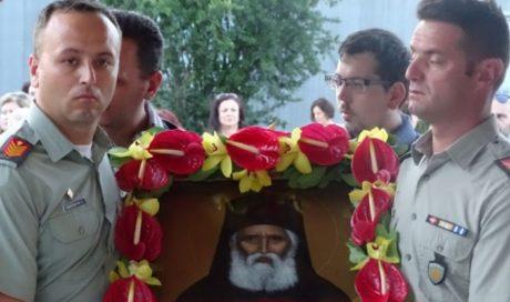 Ο Πάνος Καμμένος ανακήρυξε τον γέροντα Παΐσιο προστάτη του όπλου των Διαβιβάσεων