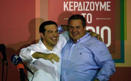 Ο Πάνος Καμμένος δήλωσε ότι δεν πρόκειται να χαλάσει η συνεργασία του με τον Τσίπρα όσα «ζιζάνια και διαόλια» βάλουν ανάμεσα τους