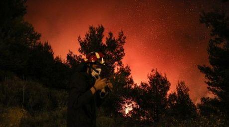 Πυρκαγιές 2017: Οι τελευταίες εξελίξεις από τα πύρινα μέτωπα της επικράτειας