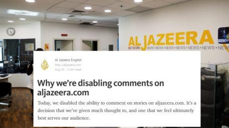 Πολύ Καλή Ιδέα: To Al Jazeera αποφάσισε να απενεργοποιήσει τα σχόλια στο site του