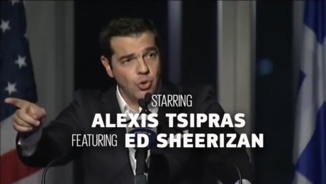 Alexis Tsipras – I'm in love with ΑΣΕΠ of you