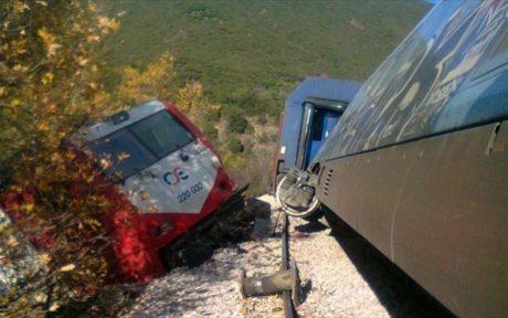 Εκτροχιάστηκε τρένο στον Δομοκό.  Κλειστή η σιδηροδρομική γραμμή Αθήνα-Θεσσαλονικη