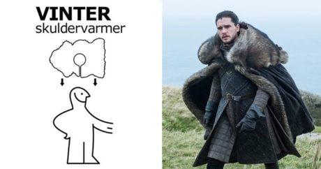 Το ΙΚΕΑ πόσταρε έναν οδηγό για να φτιάξεις Game Of Thrones κάπες με χαλάκια τους