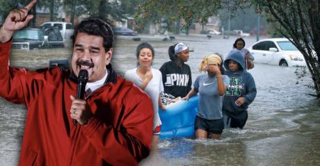 5 εκατομμύρια ευρώ θα δώσει η Βενεζουέλα στα θύματα του τυφώνα Χάρβεϊ στις ΗΠΑ