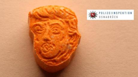 Πορτοκαλί χάπια έκστασι με τη φάτσα του Τράμπ κατέσχεσαν οι Γερμανικές Αρχές