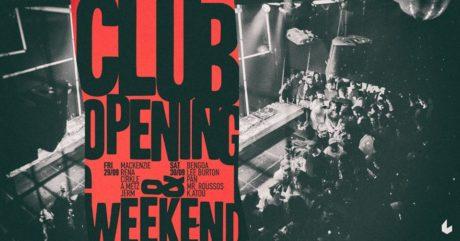 Τα Club Nights του six d.o.g.s επιστρέφουν με ένα διήμερο opening party