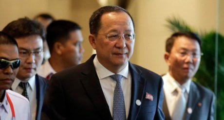 Ο υπουργός Εξωτερικών της Βόρειας Κορέας δήλωσε πως τα λόγια του Τραμπ σημαίνουν πόλεμο