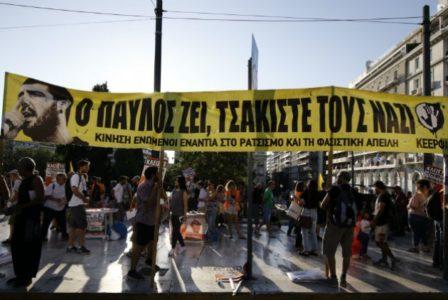 Χιλιάδες κόσμου βρέθηκαν στους δρόμους για την επέτειο της δολοφονίας του Παύλου Φύσσα