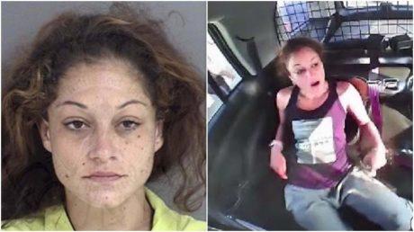 ΗΠΑ: Γυναίκα δραπέτης βγάζει τις χειροπέδες, κλέβει περιπολικό like a boss