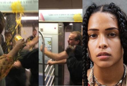 """Η """"Princess Nokia"""" έλουσε με σούπα έναν μεθυσμένο ρατσιστή στο μετρό της Νέας Υόρκης"""