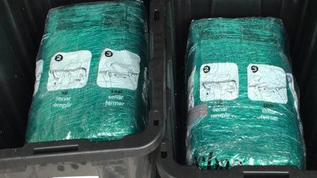 Ζευγάρι στη Φλόριντα παρήγγειλε κουτιά αποθήκευσης και έλαβε 30 κιλά χόρτου