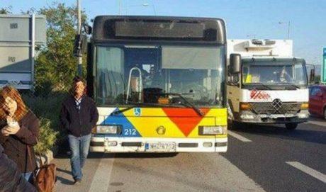 Θεσσαλονικιός λεωφορειατζής μανουριάζει με τους επιβάτες και τους αφήνει στη μέση της Εθνικής