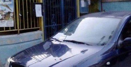 Ήρωας οδηγός έκλεισε την είσοδο ενός νηπιαγωγείου στην Καλαμαριά