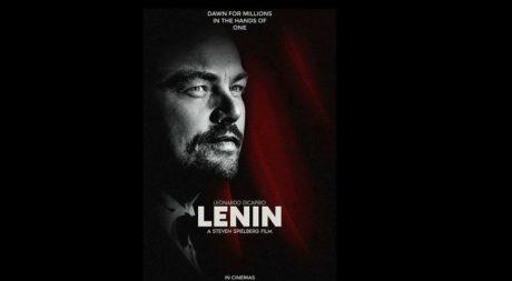 Η μούφα είδηση ότι ο ΝτιΚάπριο θα παίξει τον Λένιν είναι κάτι σαν ο Μουζουράκης να κάνει το Στάλιν