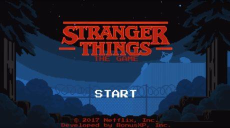 To Stranger Things: The Game βασίζεται στην πρώτη σεζόν της σειράς και μόλις κυκλοφόρησε